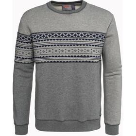 Varg Fjällbacka Cotton Jersey Herr grey with blue
